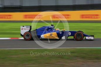 World © Octane Photographic Ltd. Sauber F1 Team C34-Ferrari – Marcus Ericsson. Saturday 26th September 2015, F1 Japanese Grand Prix, Practice 3, Suzuka. Digital Ref:
