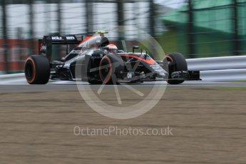 World © Octane Photographic Ltd. McLaren Honda MP4/30 - Jenson Button. Saturday 26th September 2015, F1 Japanese Grand Prix, Practice 3, Suzuka. Digital Ref: