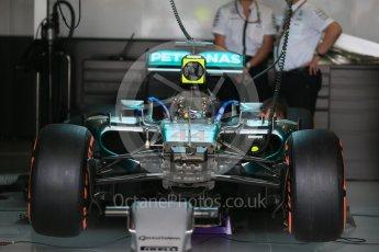 World © Octane Photographic Ltd. Mercedes AMG Petronas F1 W06 Hybrid – Lewis Hamilton. Saturday 26th September 2015, F1 Japanese Grand Prix, Practice 3, Suzuka. Digital Ref: