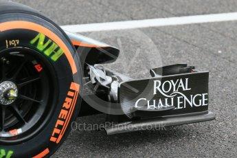 World © Octane Photographic Ltd. Sahara Force India VJM08B – Nico Hulkenberg. Saturday 26th September 2015, F1 Japanese Grand Prix, Practice 3, Suzuka. Digital Ref: