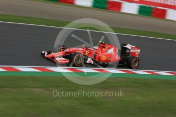 World © Octane Photographic Ltd. Scuderia Ferrari SF15-T– Kimi Raikkonen. Saturday 26th September 2015, F1 Japanese Grand Prix, Qualifying, Suzuka. Digital Ref: