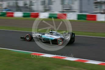 World © Octane Photographic Ltd. Mercedes AMG Petronas F1 W06 Hybrid – Nico Rosberg. Saturday 26th September 2015, F1 Japanese Grand Prix, Qualifying, Suzuka. Digital Ref: