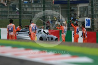 World © Octane Photographic Ltd. Marshals. Saturday 26th September 2015, F1 Japanese Grand Prix, Qualifying, Suzuka. Digital Ref: