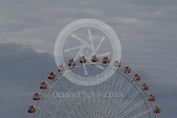 World © Octane Photographic Ltd. Ferris wheel. Saturday 26th September 2015, F1 Japanese Grand Prix, Qualifying, Suzuka. Digital Ref:
