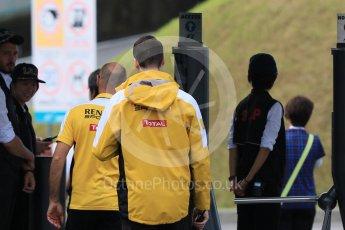 World © Octane Photographic Ltd. Renault leaving the paddock. Saturday 26th September 2015, F1 Japanese Grand Prix, Paddock, Suzuka. Digital Ref: 1445CB7D6366