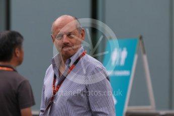 World © Octane Photographic Ltd. McLaren Honda – Ron Dennis. Sunday 27th September 2015, F1 Japanese Grand Prix, Setup, 1448CB7D7721Suzuka. Digital Ref: 1448CB7D7721