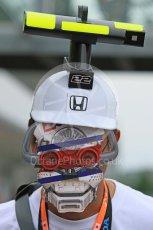 World © Octane Photographic Ltd. McLaren Honda - On Car Camera fans. Sunday 27th September 2015, F1 Japanese Grand Prix, Setup, Suzuka. Digital Ref: 1448CB7D7963