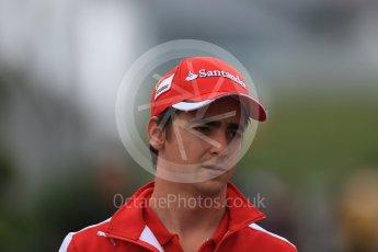World © Octane Photographic Ltd. Scuderia Ferrari SF15-T– Esteban Gutierrez. Sunday 27th September 2015, F1 Japanese Grand Prix, Setup, Suzuka. Digital Ref: 1448LB1D4137