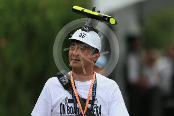 World © Octane Photographic Ltd. McLaren Honda - On Car Camera fans. Sunday 27th September 2015, F1 Japanese Grand Prix, Setup, Suzuka. Digital Ref: 1448LB1D4189