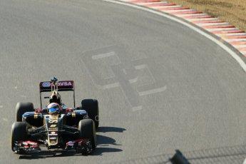 World © Octane Photographic Ltd. Lotus F1 Team E23 Hybrid - Romain Grosjean. Lotus filming day at Brands Hatch. Digital Ref: 1238LW1L4907