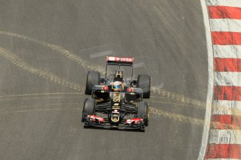 World © Octane Photographic Ltd. Lotus F1 Team E23 Hybrid - Romain Grosjean. Lotus filming day at Brands Hatch. Digital Ref: 1238LW1L4986