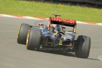 World © Octane Photographic Ltd. Lotus F1 Team E23 Hybrid - Romain Grosjean. Lotus filming day at Brands Hatch. Digital Ref: 1238LW1L5041