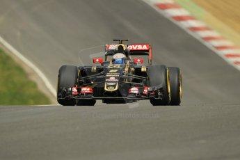 World © Octane Photographic Ltd. Lotus F1 Team E23 Hybrid - Romain Grosjean. Lotus filming day at Brands Hatch. Digital Ref: 1238LW1L5051