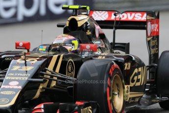 World © Octane Photographic Ltd. Lotus F1 Team E23 Hybrid – Pastor Maldonado. Thursday 21st May 2015, F1 Practice 2, Monte Carlo, Monaco. Digital Ref: 1274CB7D3725