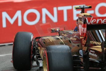 World © Octane Photographic Ltd. Lotus F1 Team E23 Hybrid – Pastor Maldonado. Thursday 21st May 2015, F1 Practice 2, Monte Carlo, Monaco. Digital Ref: 1274CB7D3738