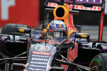 World © Octane Photographic Ltd. Infiniti Red Bull Racing RB11 – Daniel Ricciardo. Thursday 21st May 2015, F1 Practice 2, Monte Carlo, Monaco. Digital Ref: 1274LB1D4128