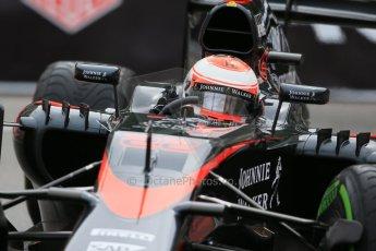 World © Octane Photographic Ltd. McLaren Honda MP4/30 - Jenson Button. Thursday 21st May 2015, F1 Practice 2, Monte Carlo, Monaco. Digital Ref: 1274LB1D4141