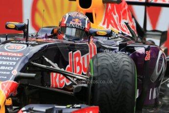 World © Octane Photographic Ltd. Infiniti Red Bull Racing RB11 – Daniil Kvyat. Thursday 21st May 2015, F1 Practice 2, Monte Carlo, Monaco. Digital Ref: 1274LB1D4161