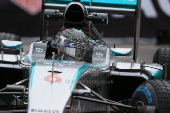 World © Octane Photographic Ltd. Mercedes AMG Petronas F1 W06 Hybrid – Nico Rosberg. Thursday 21st May 2015, F1 Practice 2, Monte Carlo, Monaco. Digital Ref: 1274LB1D4172