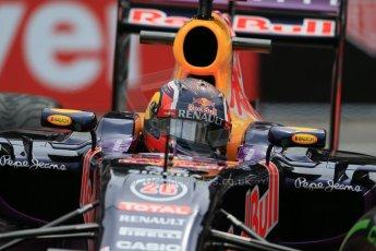 World © Octane Photographic Ltd. Infiniti Red Bull Racing RB11 – Daniil Kvyat. Thursday 21st May 2015, F1 Practice 2, Monte Carlo, Monaco. Digital Ref: 1274LB1D4201