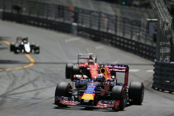 World © Octane Photographic Ltd. Infiniti Red Bull Racing RB11 – Daniel Ricciardo. Sunday 24th May 2015, F1 Race, Monte Carlo, Monaco. Digital Ref: 1286LB1D8178