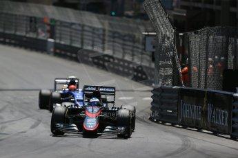 World © Octane Photographic Ltd. McLaren Honda MP4/30 – Fernando Alonso. Sunday 24th May 2015, F1 Race, Monte Carlo, Monaco. Digital Ref: 1286LB1D8284