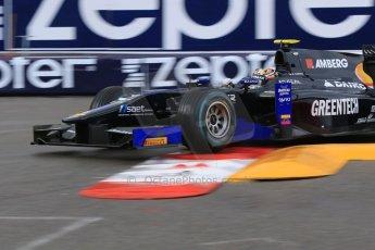 World © Octane Photographic Ltd. Thursday 21st May 2015. Lazarus – Zoel Amberg. GP2 Qualifying – Monaco, Monte-Carlo. Digital Ref. : 1275CB7D3805
