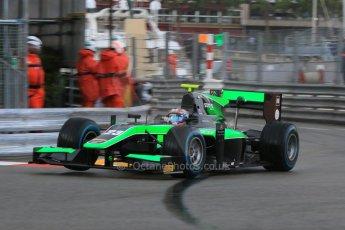 World © Octane Photographic Ltd. Thursday 21st May 2015. Status Grand Prix – Richie Stanaway. GP2 Qualifying – Monaco, Monte-Carlo. Digital Ref. : 1275CB7D3811