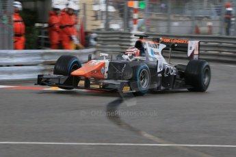 World © Octane Photographic Ltd. Thursday 21st May 2015. Trident – Raffaele Marciello. GP2 Qualifying – Monaco, Monte-Carlo. Digital Ref. : 1275CB7D3822