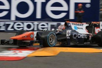 World © Octane Photographic Ltd. Thursday 21st May 2015. Trident – Raffaele Marciello. GP2 Qualifying – Monaco, Monte-Carlo. Digital Ref. : 1275CB7D3825