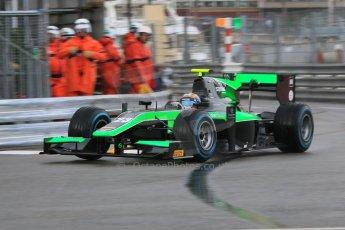 World © Octane Photographic Ltd. Thursday 21st May 2015. Status Grand Prix – Richie Stanaway. GP2 Qualifying – Monaco, Monte-Carlo. Digital Ref. :