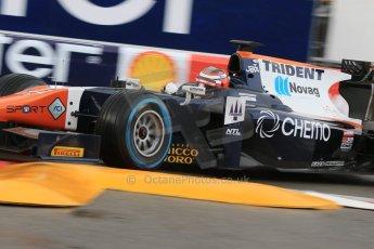 World © Octane Photographic Ltd. Thursday 21st May 2015. Trident – Raffaele Marciello. GP2 Qualifying – Monaco, Monte-Carlo. Digital Ref. : 1275CB7D3888