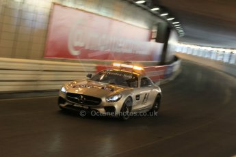 World © Octane Photographic Ltd. Mercedes AMG GTs safety car. Thursday 21st May 2015, F1 Practice 1, Monte Carlo, Monaco. Digital Ref: 1272CB1L9597