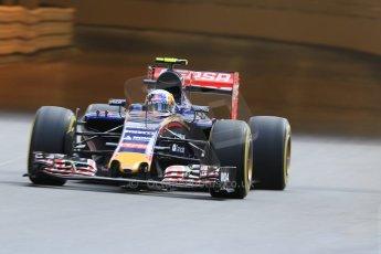 World © Octane Photographic Ltd. Scuderia Toro Rosso STR10 – Carlos Sainz Jnr. Thursday 21st May 2015, F1 Practice 1, Monte Carlo, Monaco. Digital Ref: 1272CB7D2862