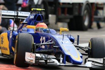 World © Octane Photographic Ltd. Sauber F1 Team C34-Ferrari – Felipe Nasr. Thursday 21st May 2015, F1 Spanish GP Formula 1 Practice 1. Monte Carlo, Monaco. Digital Ref: 1272CB7D2870