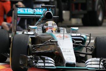 World © Octane Photographic Ltd. Mercedes AMG Petronas F1 W06 Hybrid – Lewis Hamilton. Thursday 21st May 2015, F1 Practice 1, Monte Carlo, Monaco. Digital Ref: 1272CB7D2975