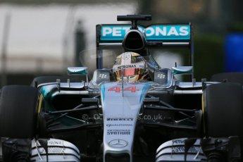 World © Octane Photographic Ltd. Mercedes AMG Petronas F1 W06 Hybrid – Lewis Hamilton. Thursday 21st May 2015, F1 Practice 1, Monte Carlo, Monaco. Digital Ref: 1272LB1D3408