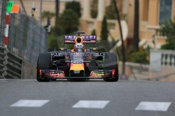World © Octane Photographic Ltd. Infiniti Red Bull Racing RB11 – Daniel Ricciardo. Thursday 21st May 2015, F1 Practice 1, Monte Carlo, Monaco. Digital Ref: 1272LB1D3533