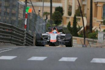 World © Octane Photographic Ltd. Manor Marussia F1 Team MR03 – Roberto Merhi. Thursday 21st May 2015, F1 Practice 1, Monte Carlo, Monaco. Digital Ref: 1272LB1D3551