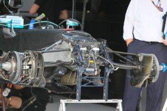 World © Octane Photographic Ltd. Mercedes AMG Petronas F1 W06 Hybrid. Wednesday 20th May 2015, F1 Pitlane, Monte Carlo, Monaco. Digital Ref: 1270CB1L9092