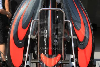 World © Octane Photographic Ltd. McLaren Honda MP4/30. Wednesday 20th May 2015, F1 Pitlane, Monte Carlo, Monaco. Digital Ref: 1270CB1L9103