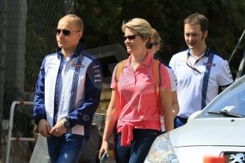 World © Octane Photographic Ltd. Williams Martini Racing FW37 – Valtteri Bottas. Wednesday 20th May 2015, F1 Track walk, Monte Carlo, Monaco. Digital Ref: 1270CB7D2480
