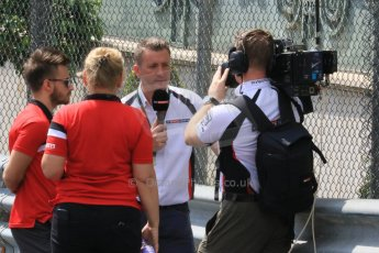 World © Octane Photographic Ltd. Manor Marussia F1 Team MR03 – William Stevens. Wednesday 20th May 2015, F1 Track walk, Monte Carlo, Monaco. Digital Ref: 1270CB7D2505