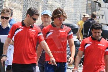 World © Octane Photographic Ltd. Manor Marussia F1 Team MR03 – Roberto Merhi. Wednesday 20th May 2015, F1 Track walk, Monte Carlo, Monaco. Digital Ref: 1270CB7D2522