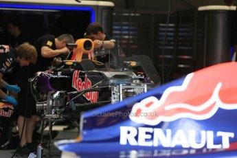 World © Octane Photographic Ltd. Infiniti Red Bull Racing RB11. Wednesday 20th May 2015, F1 Pitlane, Monte Carlo, Monaco. Digital Ref:  1270LB5D2423