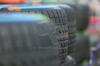 World © Octane Photographic Ltd. Pirelli full wet tyres. Wednesday 20th May 2015, F1 Pitlane, Monte Carlo, Monaco. Digital Ref: 1270LB5D2428
