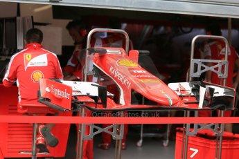 World © Octane Photographic Ltd. Scuderia Ferrari SF15-T. Wednesday 20th May 2015, F1 Pitlane, Monte Carlo, Monaco. Digital Ref: 1270LB5D2438