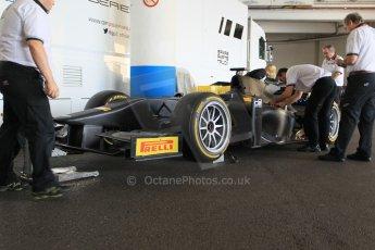 World © Octane Photographic Ltd. Friday 22nd May 2015. GP2/Pirelli 18inch tyre demonstration with Martin Brundle – Monaco, Monte-Carlo. Digital Ref. : 1279CB1L0323