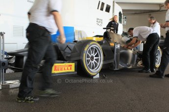 World © Octane Photographic Ltd. Friday 22nd May 2015. GP2/Pirelli 18inch tyre demonstration with Martin Brundle – Monaco, Monte-Carlo. Digital Ref. : 1279CB1L0325