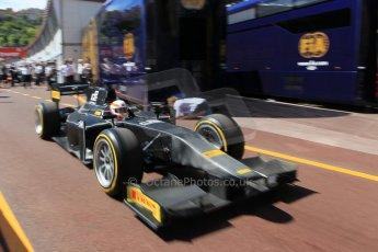 World © Octane Photographic Ltd. Friday 22nd May 2015. GP2/Pirelli 18inch tyre demonstration with Martin Brundle – Monaco, Monte-Carlo. Digital Ref. : 1279CB1L0379